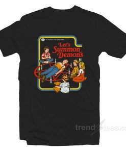 Let's Summon Demons T-Shirt Cheap Trendy Clothes