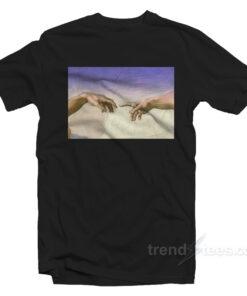 Michelangelo Hand Of God T-shirt