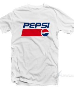 Pepsi Logo T Shirt Cheap Trendy Clothes