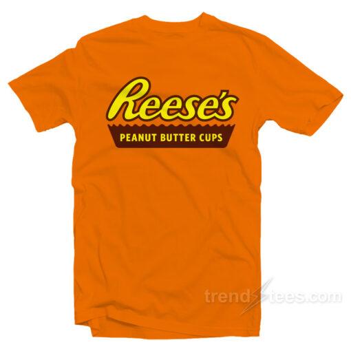 Reese's logo Peanut Butter C T-shirt Cheap Trendy Clothingups