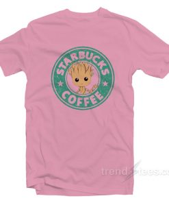 Starbucks Coffee Groot Unisex T Shirt 1 247x296 - HOME 2