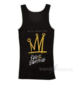 Wiz Khalifa King of Everything Tank Top Cheap Custom