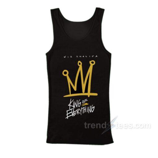Wiz Khalifa King of Everything Tank Top Cheap Custom