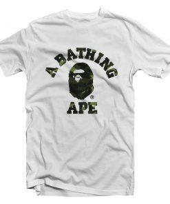 A Bathing Ape Camo T-Shirt Cheap Trendy Clothing