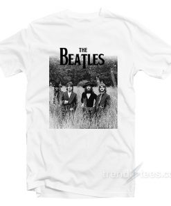 The Beatles Last Photo Shoot T-Shirt Cheap Custom