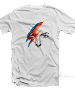 David Bowie Merchandise T-Shirt Cheap Trendy Clothes
