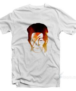 Face David Bowie T-shirt Cheap Trendy Clothes