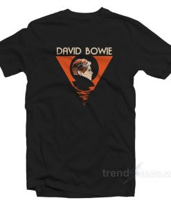 David Bowie Wife T-shirt Cheap Trendy Clothes