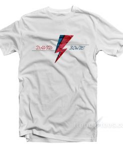 Flash Logo David Bowie T-Shirt Cheap Trendy Clothes