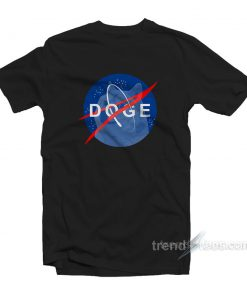 Space Dog Nasa T-Shirt Cheap Trendy Clothing