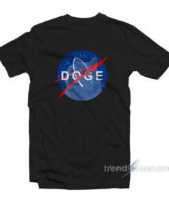 Space Dog Nasa T-Shirt Cheap Trendy Clothing