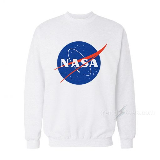 Nasa Logo Sweatshirt Cheap Trendy Clothes