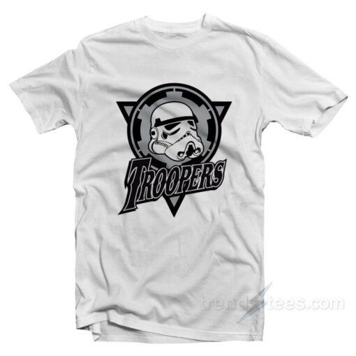 Trooper T-shirt Cheap Trendy Clothing