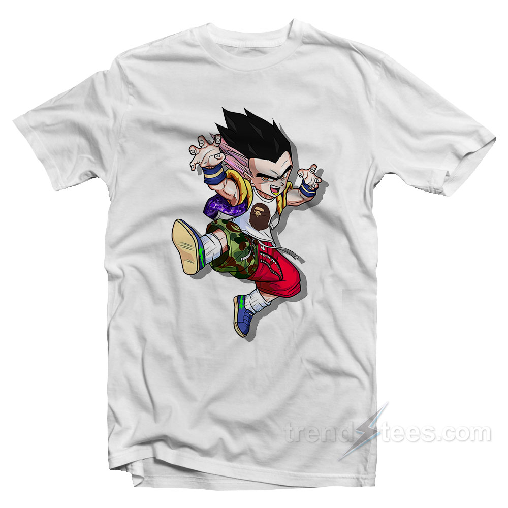 36b3393608ae Vegeta Hypebeast T-shirt Cheap Trendy Clothing - Trendstees.com