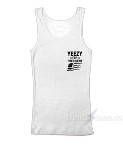Yeezy For President Flag Pocket Tank Top