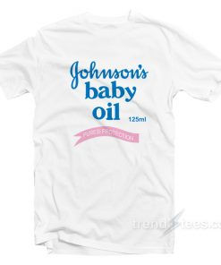 Johnsons Baby Oil Unisex T-Shirt On Sale