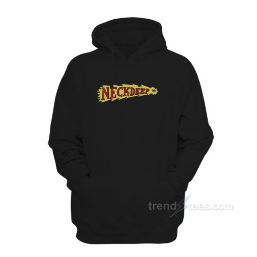 Neck Deep Flaming Eye Hoodie Unisex