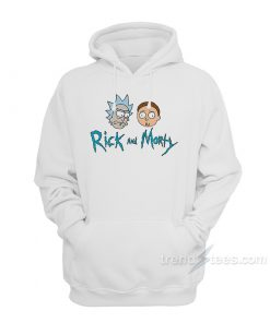 Rick And Morty Merchandise Hoodie Cheap Trendy Clothes