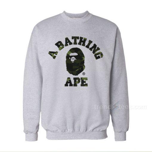 A Bathing Ape Bape Camo Sweatshirts