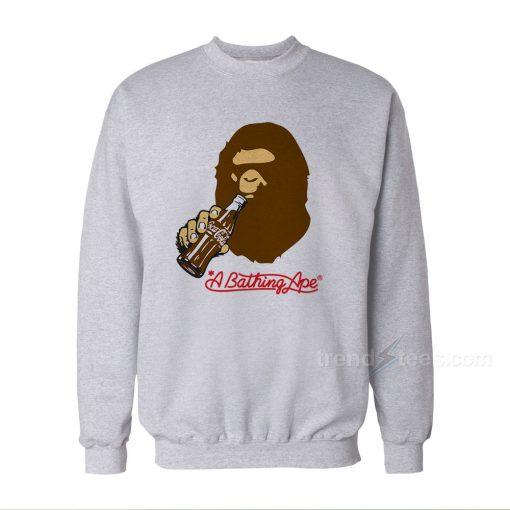 A Bathing Ape Coca-Cola Bape Sweatshirts