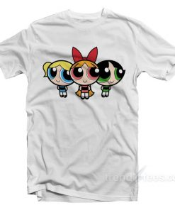 powerpuff girls merchandise t-shirt