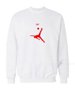 Jordan Parody Cristiano Ronaldo Skills Crewneck Sweatshirt