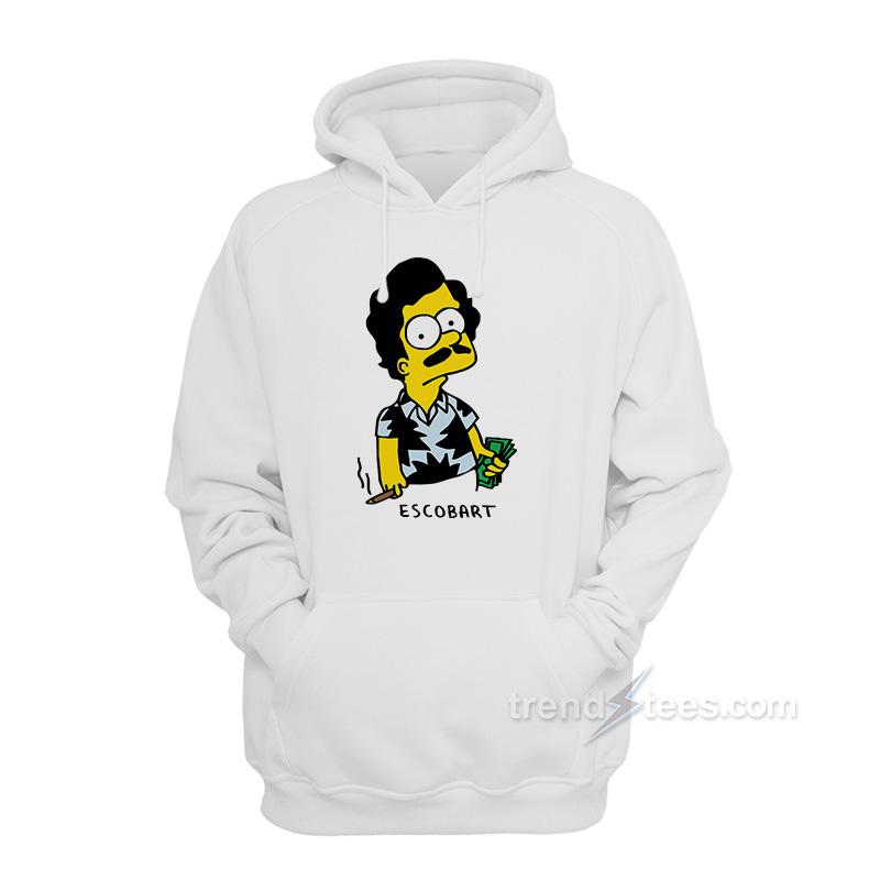 09182086ba86 Pablo Escobart Simpson Hoodie Unisex - Trendstees.com