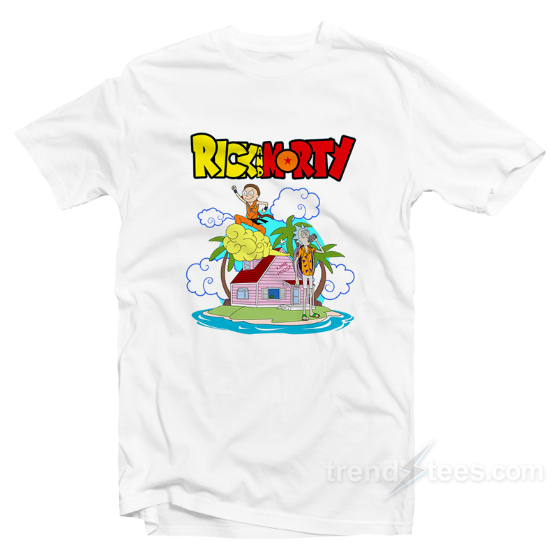 ae5e738a Rick and Morty Dragon Ball Z Shirt - Trendstees.com