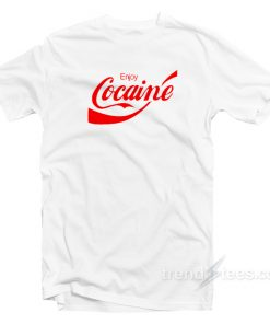 Cocaine Coca Cola Parody T-Shirt
