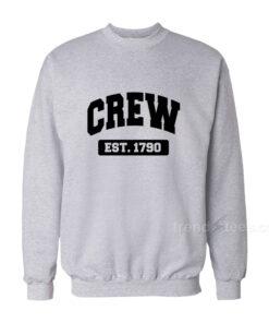 Crew Est 1790 Sweatshirt 247x296 - HOME 2