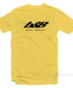 Post Malone b&B Beerbongs & Bentleys T-Shirt