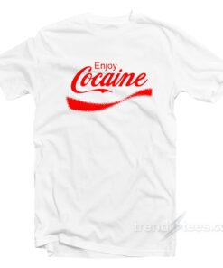 Coca-Cola Parody Cocaine T-Shirt