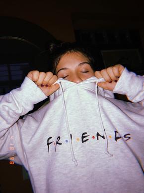 Friends Logo Unisex Hoodie