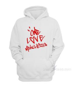 Ariana Grande One Love Manchester Hoodie Unisex