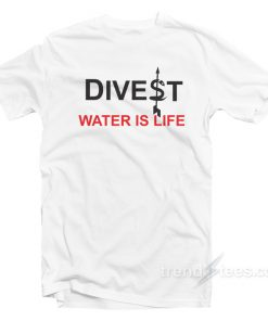 Divest Is Life Jackie Fielder T-Shirt Girls Like You