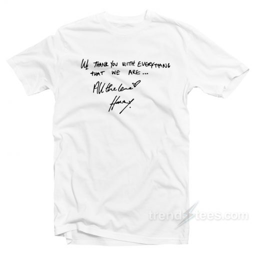 Harry Styles All The Love T-Shirt