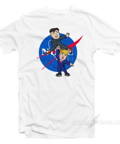Little Rocketman President Donald Trump Kim Jong Un Shirt