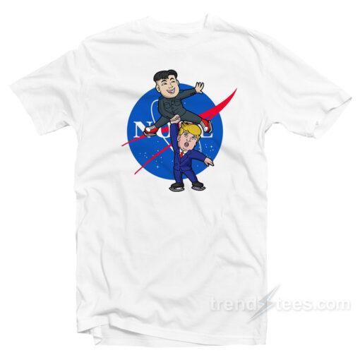 Little Rocketman President Donald Trump Kim Jong Un Shirt