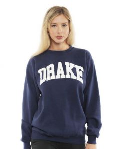 Drake University Sweatshirt For Women's or Men's