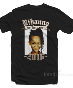 Rihanna Made In America Shirt Tour 2016 Band