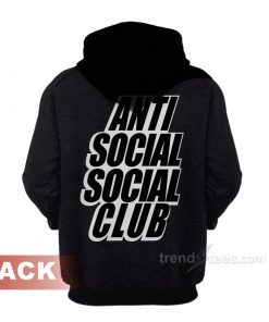 Anti Social Social Club Fall Winter 2018 Collection Hoodie