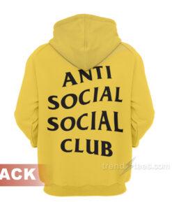 ASSC People Love Reading Negative Reviews Hoodie Anti Social Social Club
