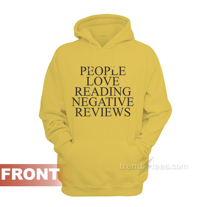 eea597681c29 ASSC People Love Reading Negative Reviews Hoodie Anti Social Social Club