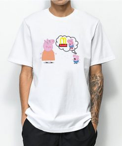 Peppa Pig Crying for Mcdonalds T-shirt