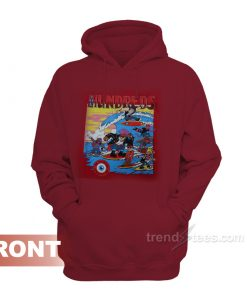The Hundreds Vintage 80's Hoodie Unisex