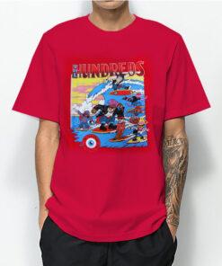 The Hundreds Vintage 80's T-Shirt For Women's or Men's