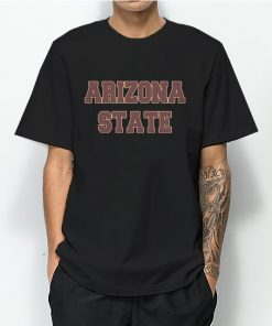 Arizona State University T-Shirt for Women's or Men's