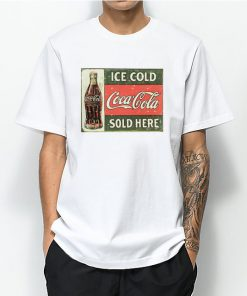 Ice Cold Coca Cola Sold Here T Shirt 247x296 - HOME 2