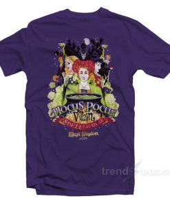 Villain Spelltacular magic kingdom Hocus Pocus T-Shirt Halloween Shirts For Adults