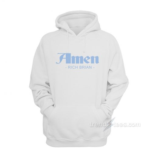 Amen Rich Brian Hoodies Unisex